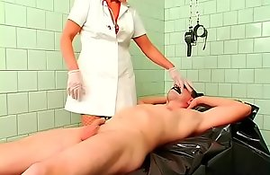 Mature sweetheart gets gagged and..