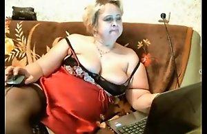 SEXY chubby mature webcam show - lickmycams.com