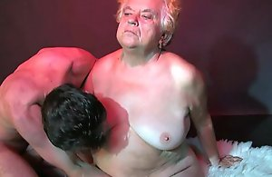 OldNanny Chunky Matures threesome sex