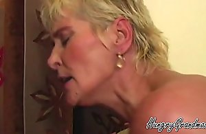 Full-grown Lady Riding Young Lover