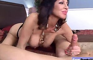 Porn action With Bigtits Matured Sexy Housewife..