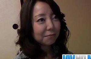 Sachiko Oriental mature gets fucked until..