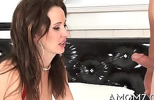 Drenched mature love tunnel gets spoiled