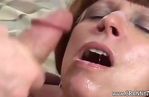 Sexy old mature honour unchanging fuck