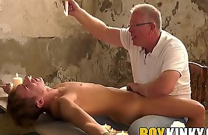 Mature maledom purfling limits his roped down..