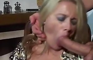 Forced Blowjob 3 - Matured Blonde
