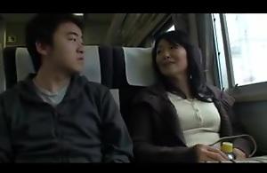 Lusty MILFs having sex in a Japanese..