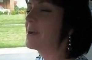 Mature brunette cuckold wife has..