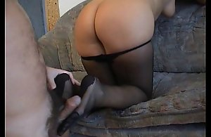 Amateurs occupied more a pantyhosed..