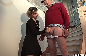 Horn-mad french mom firm anal screwed..