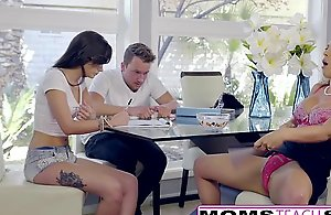 Hawt step-mom cherie deville seduces daughters..