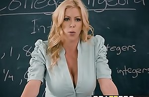 Brazzers.com - large titties at school..