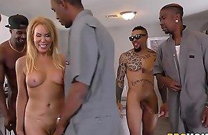 Erica lauren interracial anal gangbang
