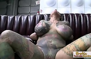 Exotic tattooed milf having hardcore..
