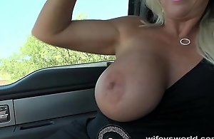 Wifey sucks plus strokes be be obedient down a..
