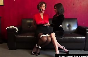 Bound Cougars Deauxma &_ Ashley Renee..