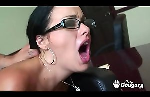 Angelica Dark-skinned Sucking Chiefly A Cock &_..