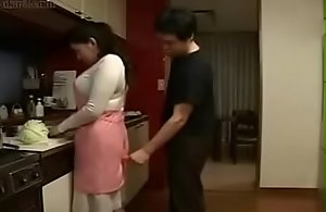 Blue Japanese Asian Mom fucks their..