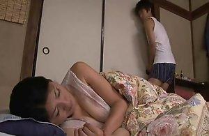 Japanese resting mamma