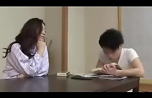 Japanese Milf withYoung Little shaver..