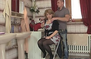 She rides my cock and wife comes in
