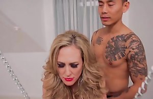 Chained more brandi love is the fuck serf to a..