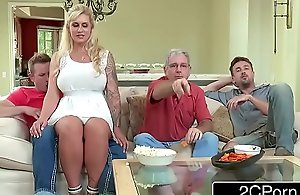 Curvy stepmom ryan conner takes her..
