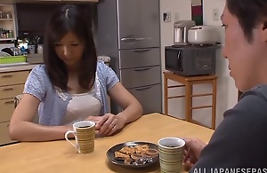 Hot mature Asian housewife Chihiro..