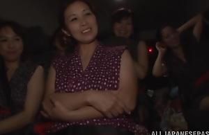Mature Japanese AV models enjoying a..