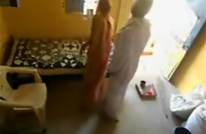 Horny ancient indian guy humping his maid slit..