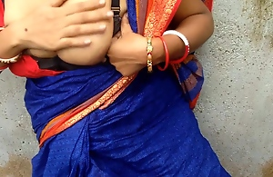 Devar Outdoor Fucking Indian Bhabhi In Shunned..