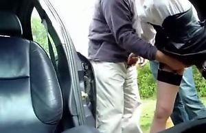 car park sex on hidden netting camera