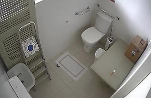 Hidden work WC cam