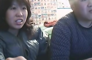 Chinese Couple Sex Life before Livecam