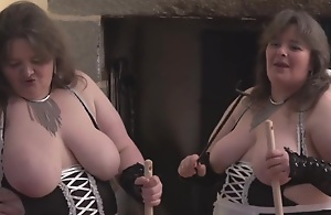 French Maids hard at it!
