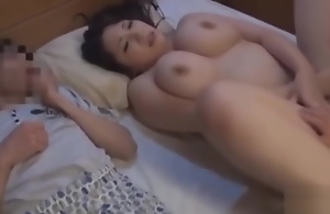 mom fucks one of his sons nearby front of his..
