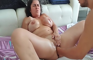 Zooid squirt with fisting in pussy