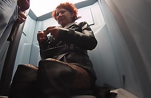 leather street whore public toilet bj