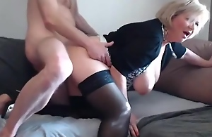 Sex Mature in front of the webcam. Big Tits,..