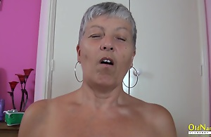 OldNannY Busty British Mature Drag..
