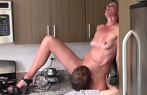 Oral job matriarch and son (Sofie Marie)