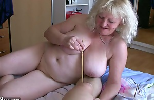 OldNanny Mature with big breast..