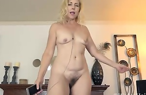 Badd Gramma likes getting naked and sexy -..