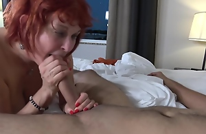 Red haired granny, Angie Summers..