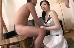 Asian Japanese Mandate Mom With the..