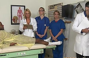 Cfnm nurse krissy lynn group intercourse act