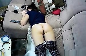 Hidden webcam in ceiling bug caught my..