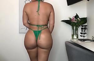 Whacking big Phat Butt Thong Bikini..