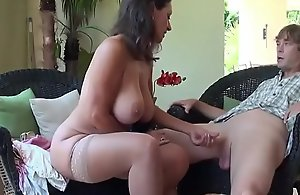 Stepmom and Stepson Gamble - More in..