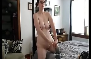 Caught Mama Masturbating on dramatize expunge..